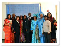 United Nations' Woman and Peace Conference March 8 and 9 2012