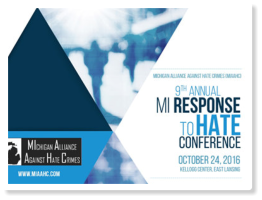 The Michigan Alliance Against Hate Crimes and The Michigan Department of Civil Rights